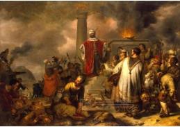 VH175 Gerbrand van den Eeckhout - Jeroboamová oběť v Betlémě
