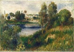 DDSO-5300 Pierre Auguste Renoir - Krajina u Vetheuil