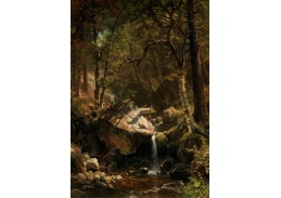 D-7727 Albert Bierstadt - Horský potok