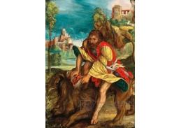 D-9025 Albrecht Dürer - Samson pronásleduje lva
