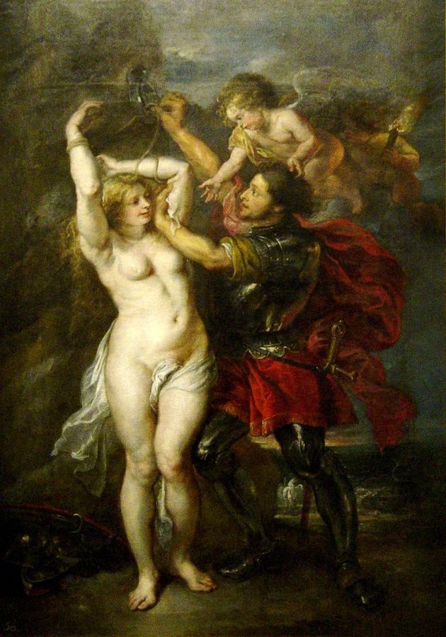 VRU104 Peter Paul Rubens - Perseus a Androméda