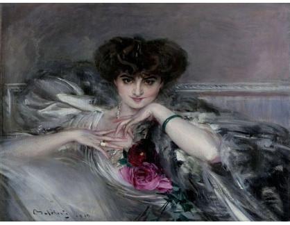 KO III-159 Giovanni Boldini - Portrét princezny Radzwill