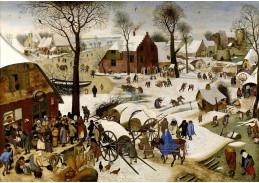 BRG-187 Pieter Brueghel - Sčítání lidu v Betlémě