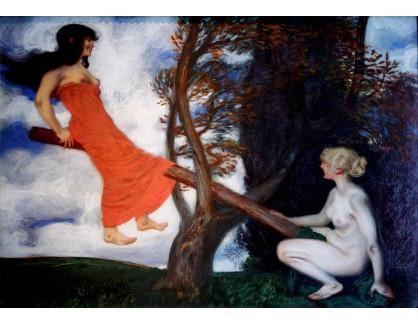Slavné obrazy IX DDSO-620 Franz von Stuck - Kolébka