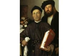 VLL 28 Lorenzo Lotto - Portrét Jana Torré a jeho syna