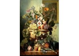 DDSO-4358 Albertus Jonas Brandt - Květinové zátiší s ovocem