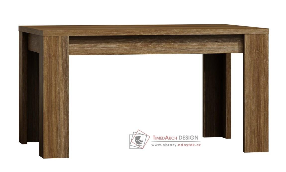 Jídelní stůl rozkládací 120x80 cm PARIS dub stirling