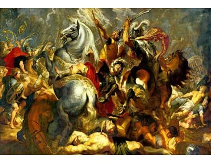 VRU142 Peter Paul Rubens - Vítězství nebo smrt konzula Decius Mus v bitvě