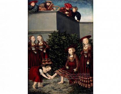 VlCR-109 Lucas Cranach - David a Bathsheba