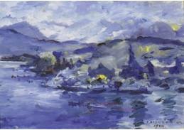 VLC 104 Lovis Corinth - Jezero Luzerne v odpoledních hodinách