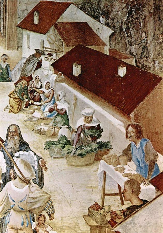 VLL 30 Lorenzo Lotto - Freska Umučení svaté Kláry