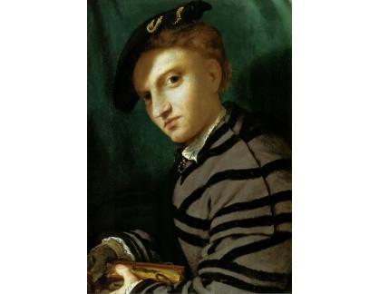 VLL 35 Lorenzo Lotto - Portrét mladého muže s knihou