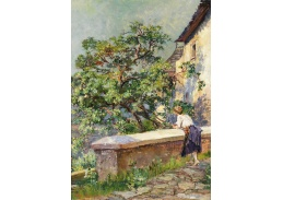 Slavné obrazy XVII-490 Hugo Charlemont - Ve Wachau