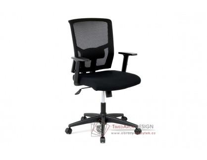 KA-B1012 BK, kancelářská židle, látka černá