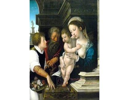 VH594 Barend van Orley - Svatá rodina