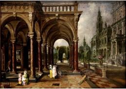 VH104 Hans Vredeman de Vries  - Budovy a zahrady