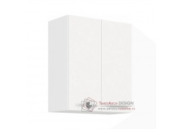 SPLIT, horní kuchyňská skříňka 60 G-72 2F, bílá