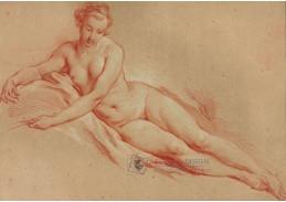 D-6198 Francois Boucher - Ležící akt