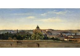 D-8389 Pierre Henri de Valenciennes - Pohled na Řím