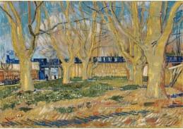 A-10 Vincent van Gogh - Modrý vlak