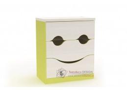 CASPER C104, komoda úsměv, výběr provedení