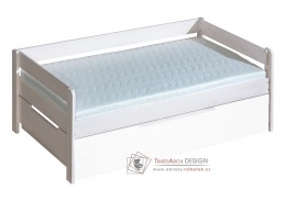 BORYS B1, dětská postel, borovicový masiv