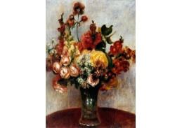 VR14-167 Pierre-Auguste Renoir - Zátiší s květinami