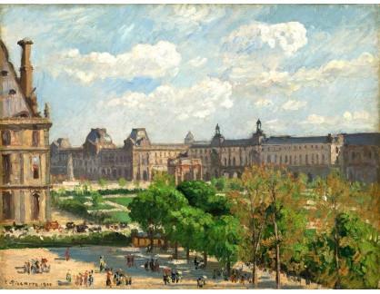 VCP-365 Camille Pissarro - Place du Carrousel v Paříži