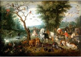 BRG-08 Jan Brueghel - Krajina se zvířaty