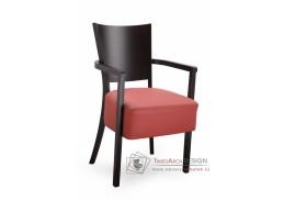 ALBERT 323531, jídelní židle, bukový masiv / látka
