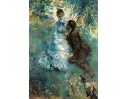 VR14-292 Pierre-Auguste Renoir - Milenci