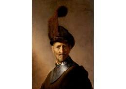 R4-11 Rembrandt - Stařec ve vojenském oděvu
