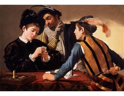 VCAR 04 Caravaggio - Falešní hráči