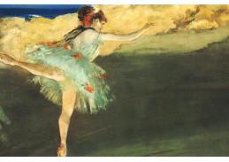 R6-207 Edgar Degas - Taneční pozice
