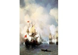 VL107 Ivan Konstantinovič Aivazovsky - Bitva o průliv Chios
