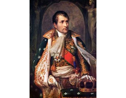 Slavné obrazy VII-18 Andrea Appiani - Portrét Napoleona