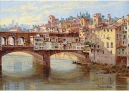 D-9275 Antonietta Brandeis - Ponte Vecchio ve Florencii