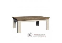 ROYAL LN2, konferenční stolek, borovice bílá / dub divoký