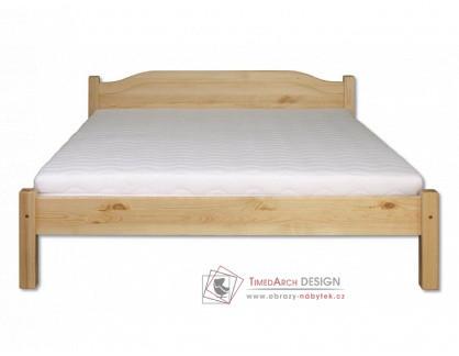 KL-106, postel 120x200cm, borovicový masiv