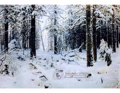 VR60 Ivan Ivanovič Šiškin - Zimní les
