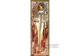 VAM109 Alfons Mucha - Autumn