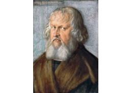 DDSO-5367 Albrecht Dürer - Portrét Hieronymuse Holzschuhera