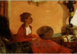 D-7116 Edgar Degas - Madame Camus
