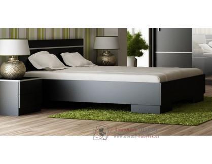 VISTA, postel 160x200cm, černá