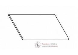 Kuchyňská pracovní deska 40 cm šedý asfalt