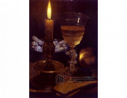 VN-273 Georg Flegel - Zátiší se svíčkou