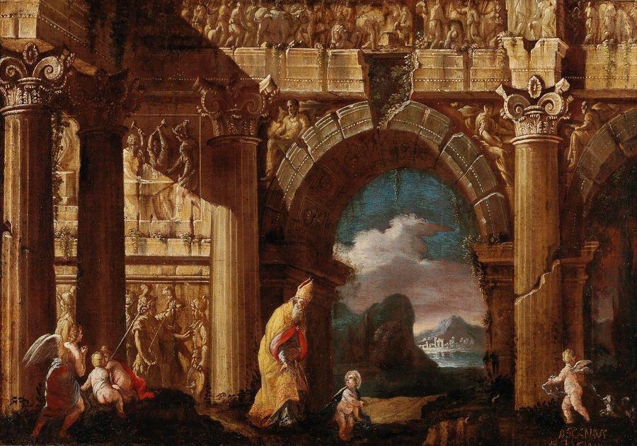 DDSO-1523 Asciano Luciani - Vidění svatého Augustina