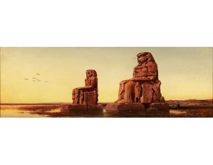 VP347 Albert August Zimmermann - Colossi of Memnon