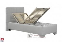 KELLY, postel 90x200cm BEZ matrace, výběr čalounění