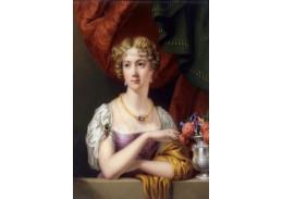 Slavné obrazy VII-104 Henry Pierce Bone - Georgiana Charlotte Quin